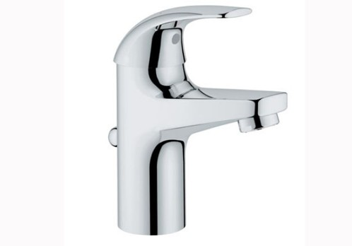Buy Grohe 32805000 Single-lever Basin Mixer Tap Online at Best ...